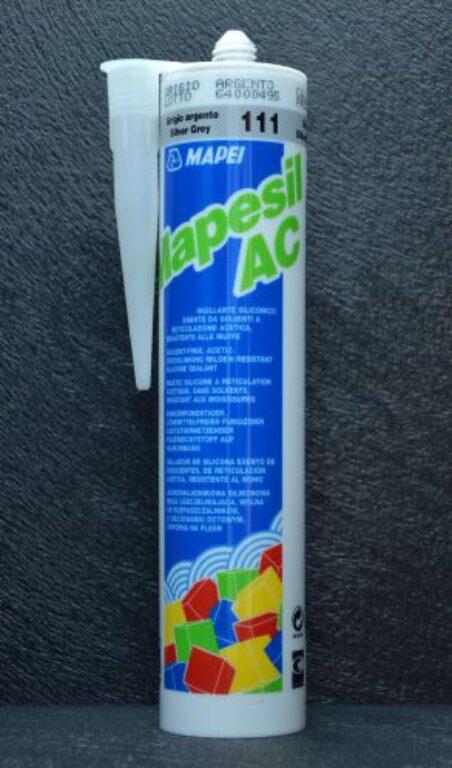 M-Mapesil AC 170 silikon blankytně modrá - Stavební chemie / Spárování
