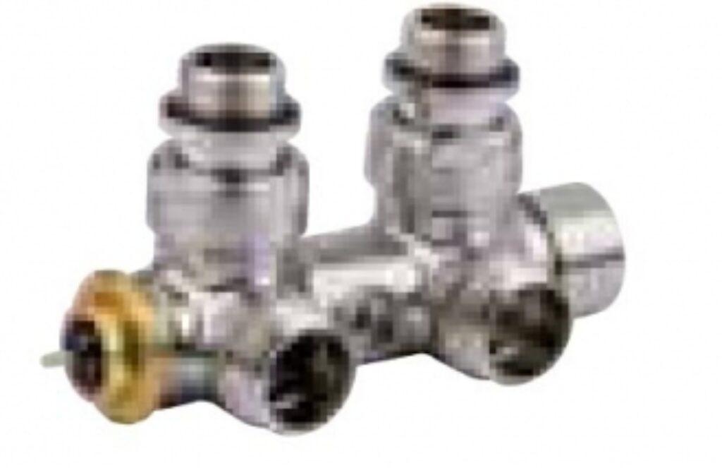 ISAN-termostatický ventil rohový nerez 484000510 - Koupelnové radiátory / Příslušenství k radiátorům do koupelny / Katalog koupelen
