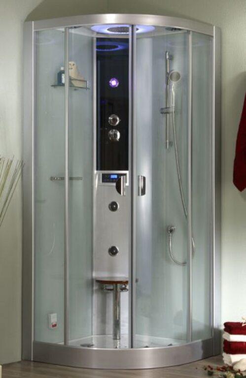 ROL-LLR/1000 HM a parní box s termostat.bat.+sprch.set Grohe (4G00117) - Masážní systémy / Masážní boxy / Katalog koupelen