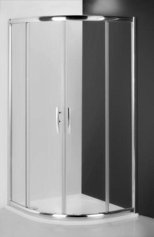 ROL-PXR2N/900 AKCE + vanička TAHITI-M 900 - Sprchové kouty pro koupelny / Čtvrtkruhové sprchové kouty do koupelny / Katalog koupelen