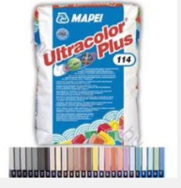 M-Ultracolor Plus 112 rychle tvrdnoucí malta šedá střední á5kg - Stavební chemie / Spárování