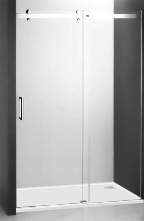 ROL-AMD2/1200 Brillant/Transp sprchové dveře - Sprchové kouty pro koupelny / Dveře do niky / Katalog koupelen