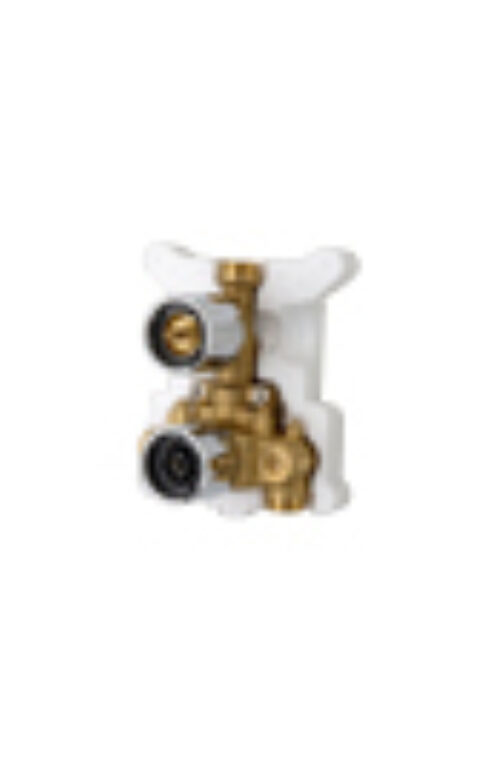 ORAS OPTIMA podomítkové těleso 7137 chrom - Doprodej koupelnového vybavení / Vodovodní baterie v akci / Příslušenství k bateriím