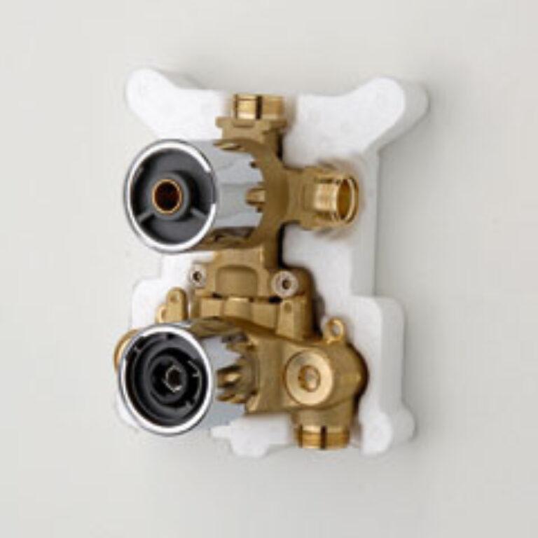 ORAS OPTIMA podomítkové těleso pro sprchovou+vanovou termostat. bat. 7138 chrom - Vodovodní baterie / Příslušenství k bateriím
