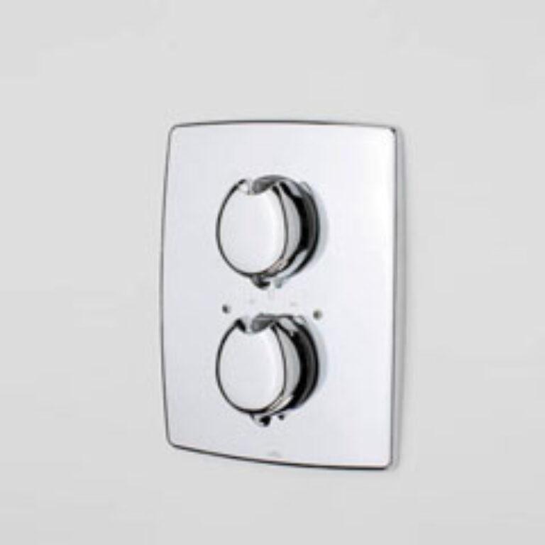 ORAS OPTIMA sprchová podomítková termostatická bat. 7187 chrom - Vodovodní baterie / Sprchové baterie / Katalog koupelen