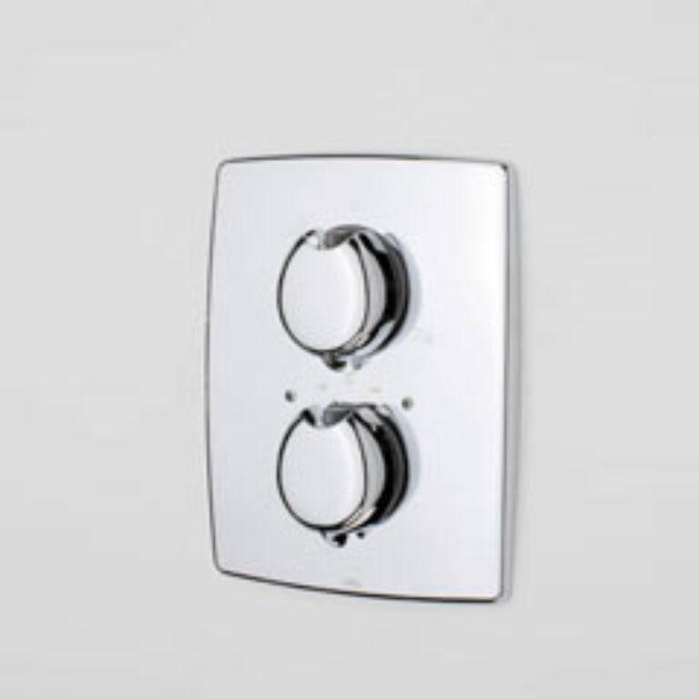 ORAS OPTIMA vanová+sprchová podomítková termostatická bat. 7188 chrom - Doprodej koupelnového vybavení / Vodovodní baterie v akci / Termostatické baterie