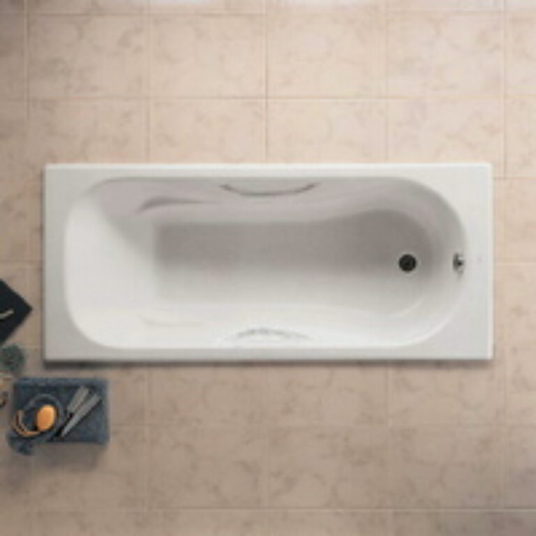 MALIBU vana 160/70 litinová smaltovaná antislip 7233460000 I.j. - Vany / Obdelníkové vany do koupelen