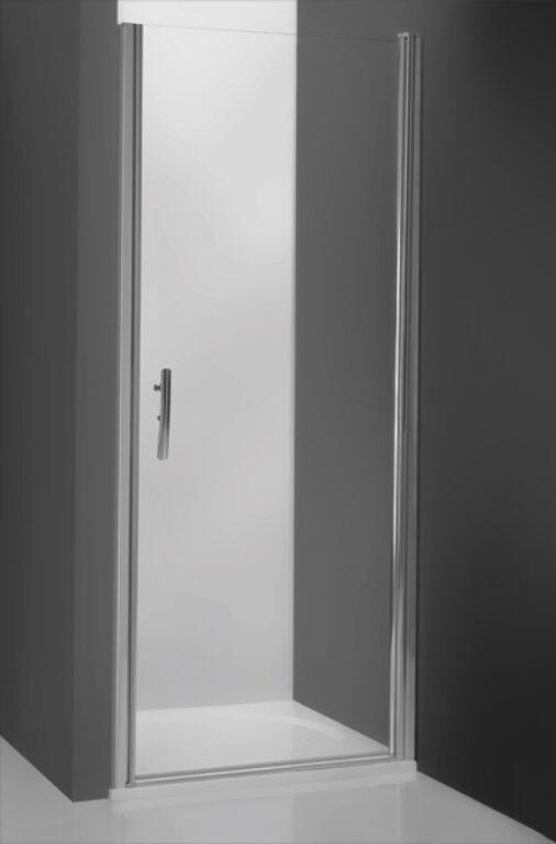 ROL-TCN1/1000 Stříbro/Transp sprchové dveře jednokřídlé do niky - Sprchové kouty pro koupelny / Dveře do niky / Katalog koupelen