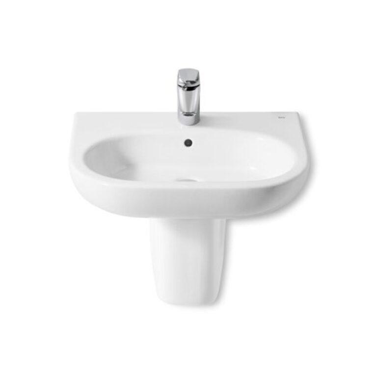 ROCA Meridian umyvadlo 65x46cm bílé s instalační sadou 7327241000 I.j. - Doprodej koupelnového vybavení / Sanitární keramika v doprodeji / Umyvadla do koupelny v akci