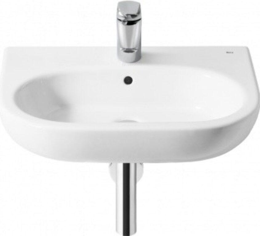 ROCA Meridian umyvadlo 50x46cm bílé s instalační sadou 7327244000 I.j. - Sanitární keramika / Umyvadla do koupelny