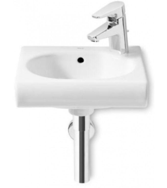 ROCA Meridian umývátko 35x32cm bílé s instalační sadou 7327249000 I.j. - Sanitární keramika  / Umývátka / Katalog koupelen