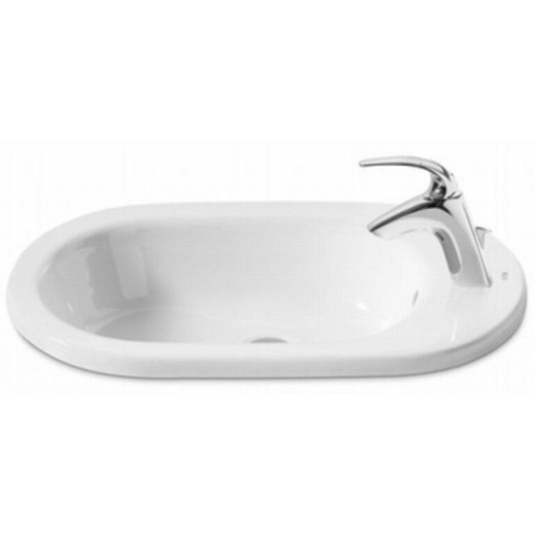 ROCA Meridian umyvadlo 55x42cm bílé do nábytku s instal.sadou 732724E000 I.j - Sanitární keramika / Umyvadla do koupelny
