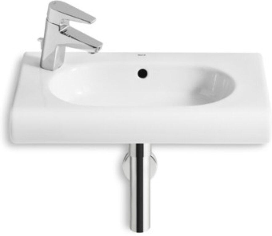 ROCA Meridian umyvadlo 60x32cm bílé s instalační sadou 732724X000 I.j. - Sanitární keramika / Umyvadla do koupelny
