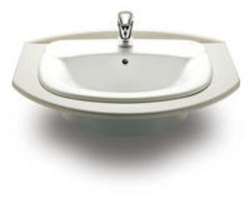 Zápustné umyvadlo GIRALDA bílé 7327465000 - Doprodej koupelnového vybavení / Sanitární keramika v doprodeji / Umyvadla do koupelny v akci