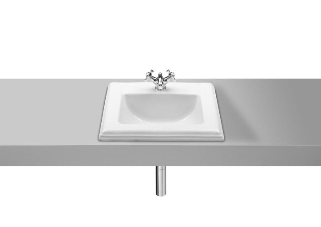 ROCA America umyvadlo 58cm zápustné bílé 7327495000 I.j. - Sanitární keramika / Umyvadla do koupelny