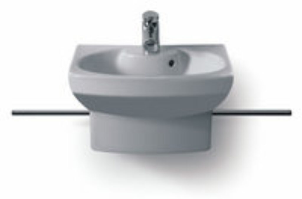 DAMA SENSO-C umývátko 48x37,5cm bílé 7327514000 I.j. - Doprodej koupelnového vybavení / Sanitární keramika / Umyvadla do koupelny
