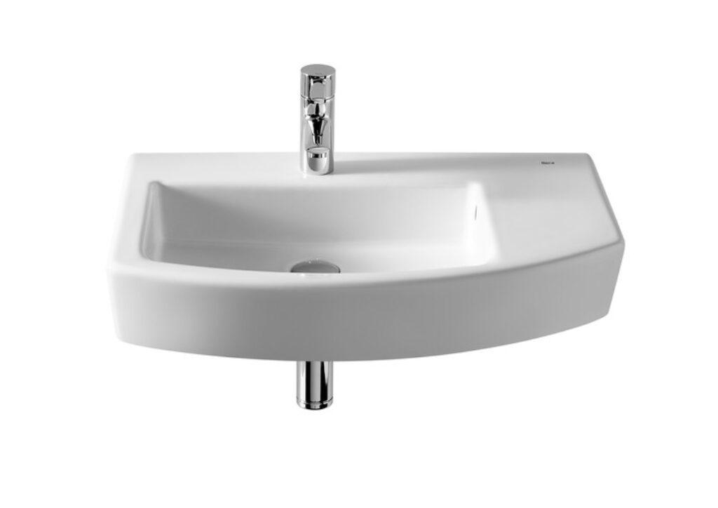 HALL umyvadlo asymetrické 65x42cm bílá 7327620000 I.j. - Sanitární keramika  / Umyvadla do koupelny / Katalog koupelen