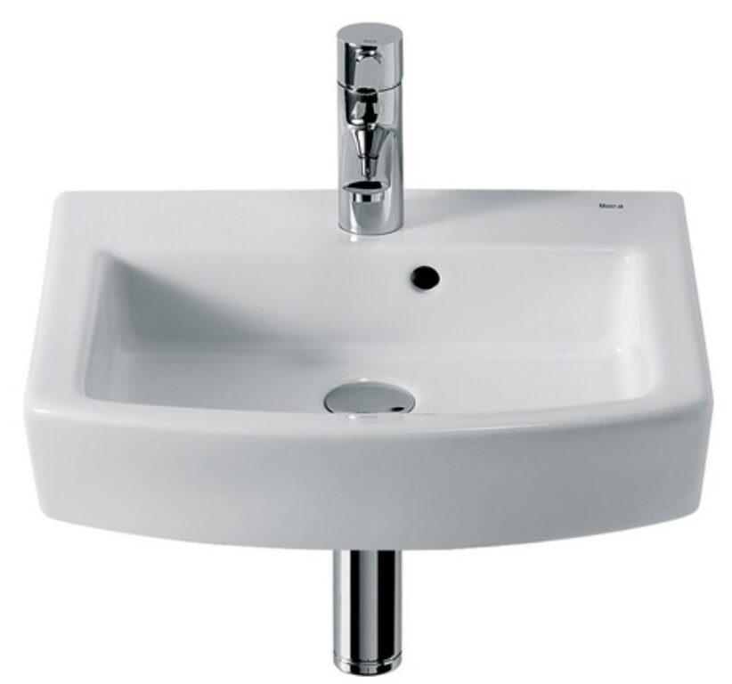 HALL umývátko 45x38cm maxiclean 732762400M I.j. - Doprodej koupelnového vybavení / Sanitární keramika v doprodeji / Umývátka