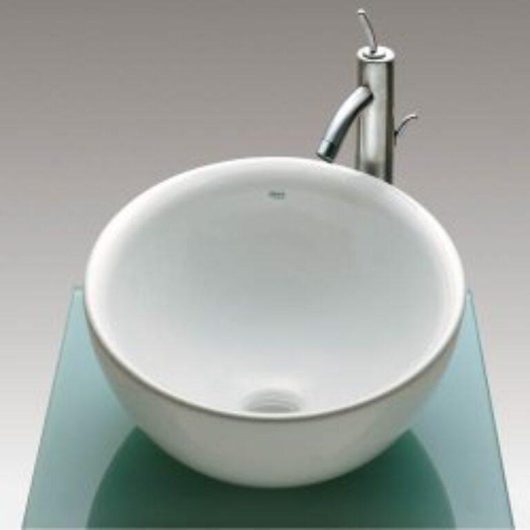 BOL umyvadlová mísa bílá 7327876000 I.j. - Doprodej koupelnového vybavení / Sanitární keramika v doprodeji / Umyvadla do koupelny v akci