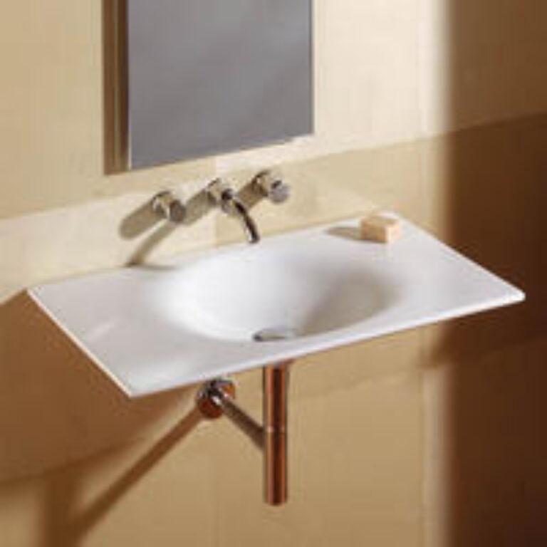 KALAHARI umyv.80cm bílé 7327878000 I.j. - Doprodej koupelnového vybavení / Sanitární keramika / Umyvadla do koupelny