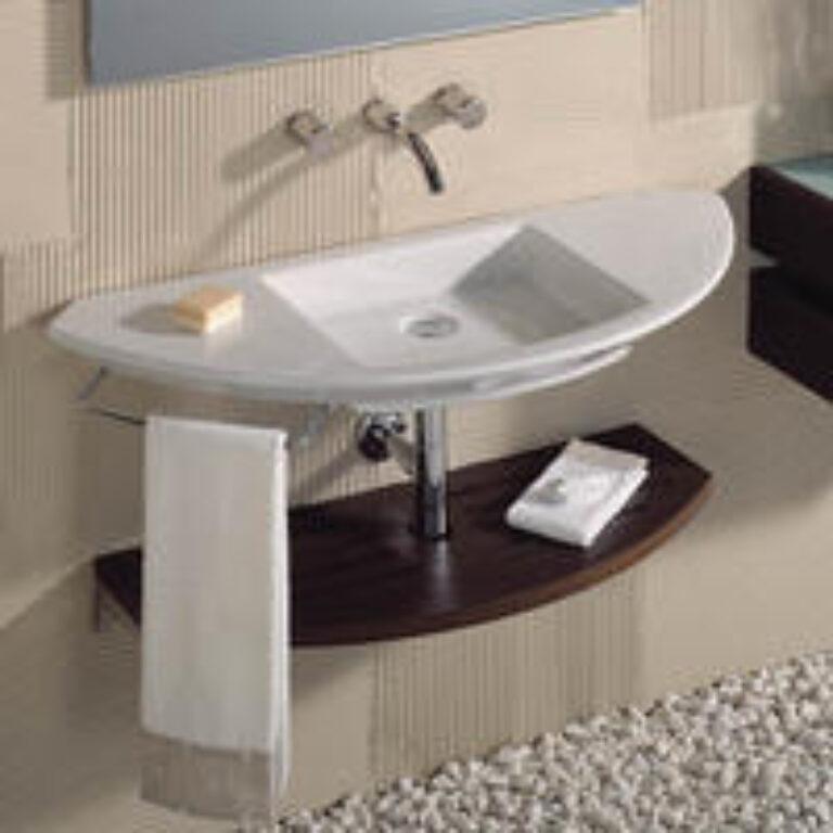 MOHAVE umyv.110cm bílé 7327879000 I.j. - Sanitární keramika / Umyvadla do koupelny