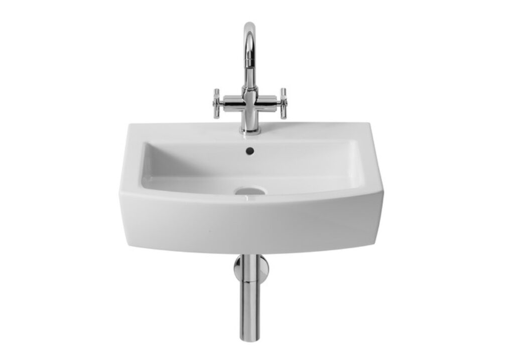 HALL umyvadlová mísa 55x48,5cm maxiclean 732788100M I.j. - Doprodej koupelnového vybavení / Sanitární keramika v doprodeji / Umyvadla do koupelny v akci