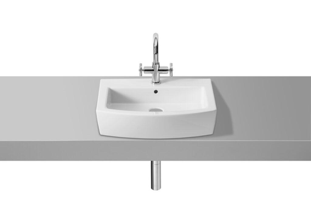 HALL TOP umyvadlová mísa 52x48,5cm bílá-maxiClean 732788200M I.j. - Doprodej koupelnového vybavení / Sanitární keramika v doprodeji / Umyvadla do koupelny v akci
