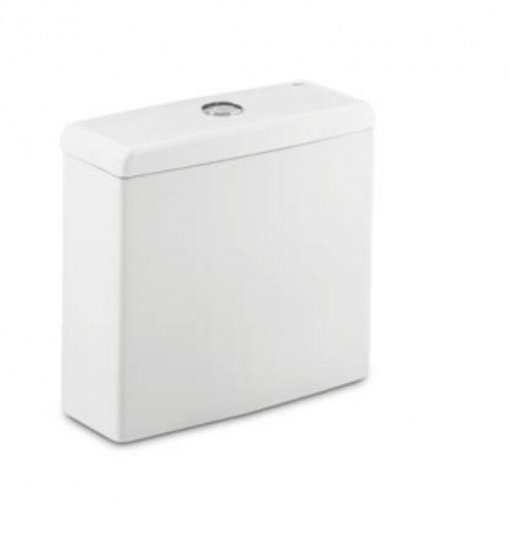 ROCA Meridian WC nádrž bílá armatura Dual Flush 7341240000 I.j. - Doprodej koupelnového vybavení / Sanitární keramika v doprodeji / Příslušenství k sanitární keramice ve slevě