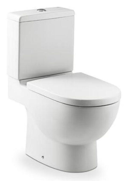 ROCA Meridian WC kombi mísa bílá vario odpad 7342247000 I.j. - Sanitární keramika / WC / Toalety / Klozety