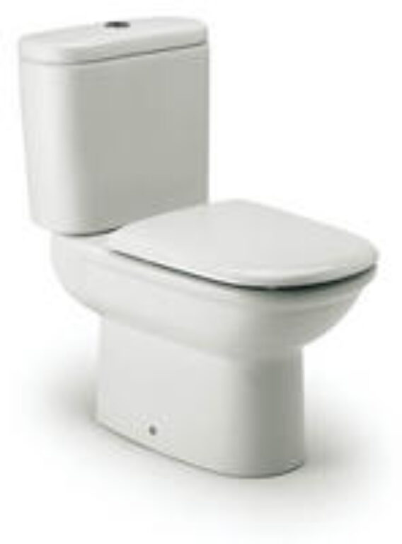 GIRALDA WC kombi mísa bílá 7342467000 I.j. - Doprodej koupelnového vybavení / Sanitární keramika v doprodeji / WC / Toalety v akci