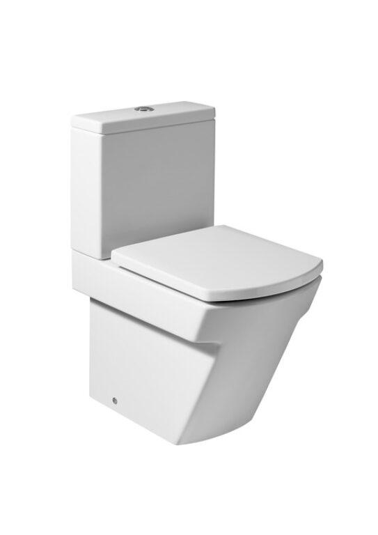 HALL mísa kombi stoj. bílá 7342628000 I.j. - Doprodej koupelnového vybavení / Sanitární keramika v doprodeji / WC / Toalety v akci
