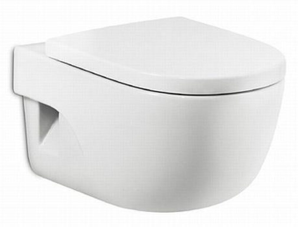 ROCA Meridian WC závěsný Compact s Maxiclean bílý 734624800M I.j. - Sanitární keramika / WC / Toalety