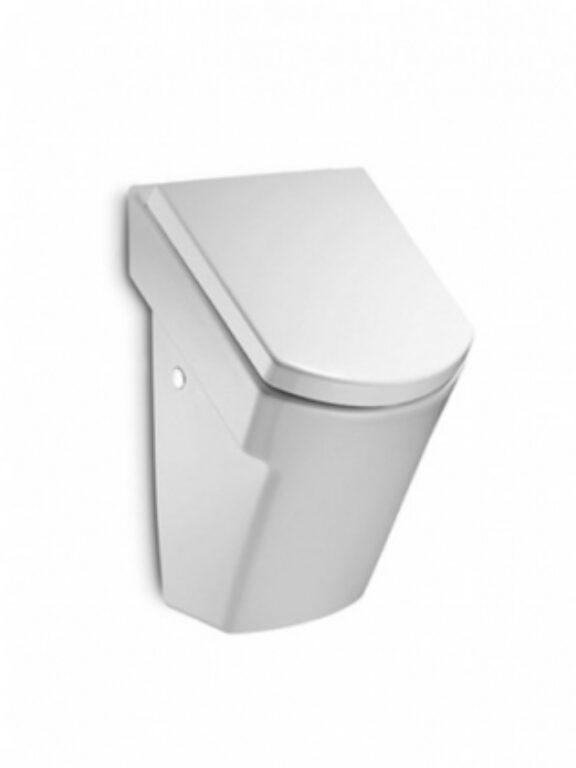ROCA Hall domácí urinál vč.montážní sady a poklopu Softclose 735362E000 I.j. - Sanitární keramika  / Pisoáry / Katalog koupelen