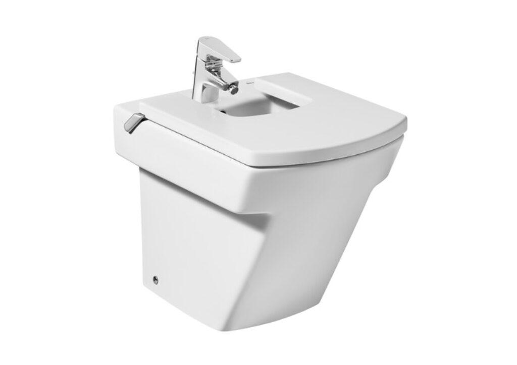 ROCA Hall bidet stojící vč.instalační sady Maxiclean bílý 735762400M I.j. - Sanitární keramika  / Bidety - WC / Katalog koupelen