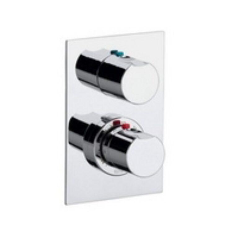 MOAI vanová-sprchová term.podomít.baterie s přepínačem chrom 75A2846C00 I.j. - Doprodej koupelnového vybavení / Vodovodní baterie v akci / Termostatické baterie