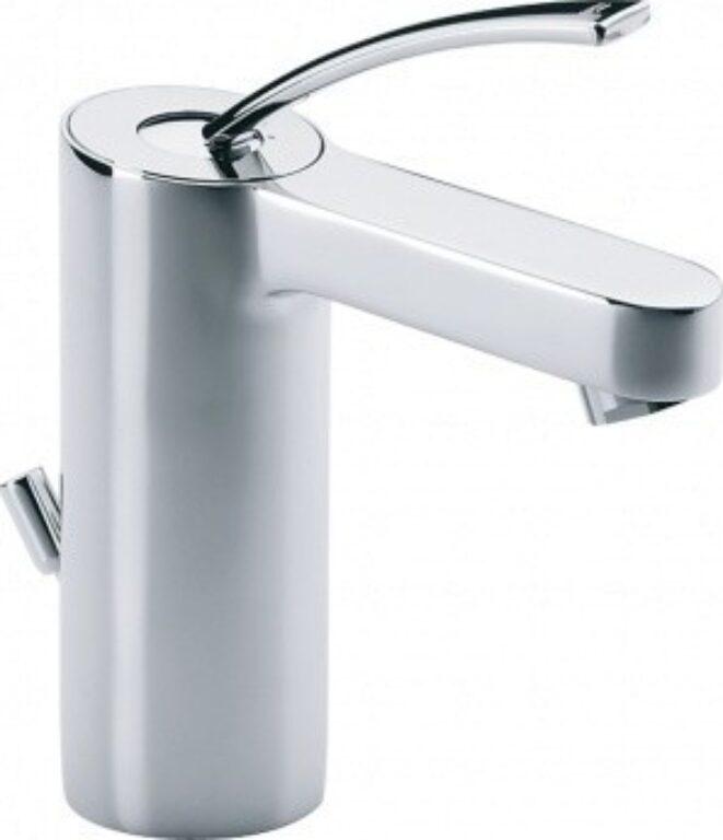 MOAI umyvadlová stojánková páková baterie chrom - Doprodej koupelnového vybavení / Vodovodní baterie / Umyvadlové baterie