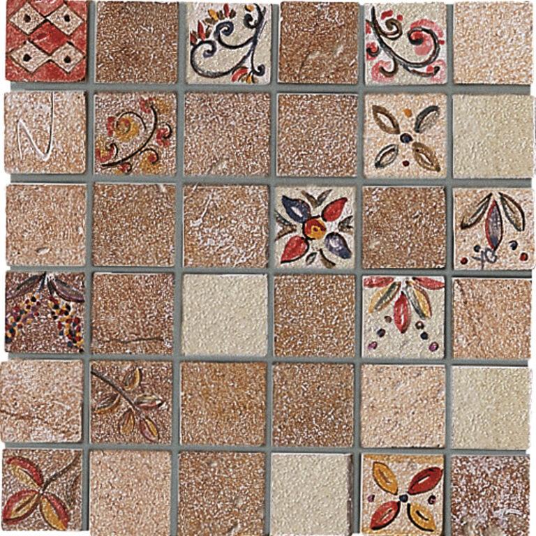 pietra l.beige BI/B/R tess.mosaico 20/20  7604848 I.j. - Obklady a dlažby / Obklady do kuchyně / Katalog koupelen