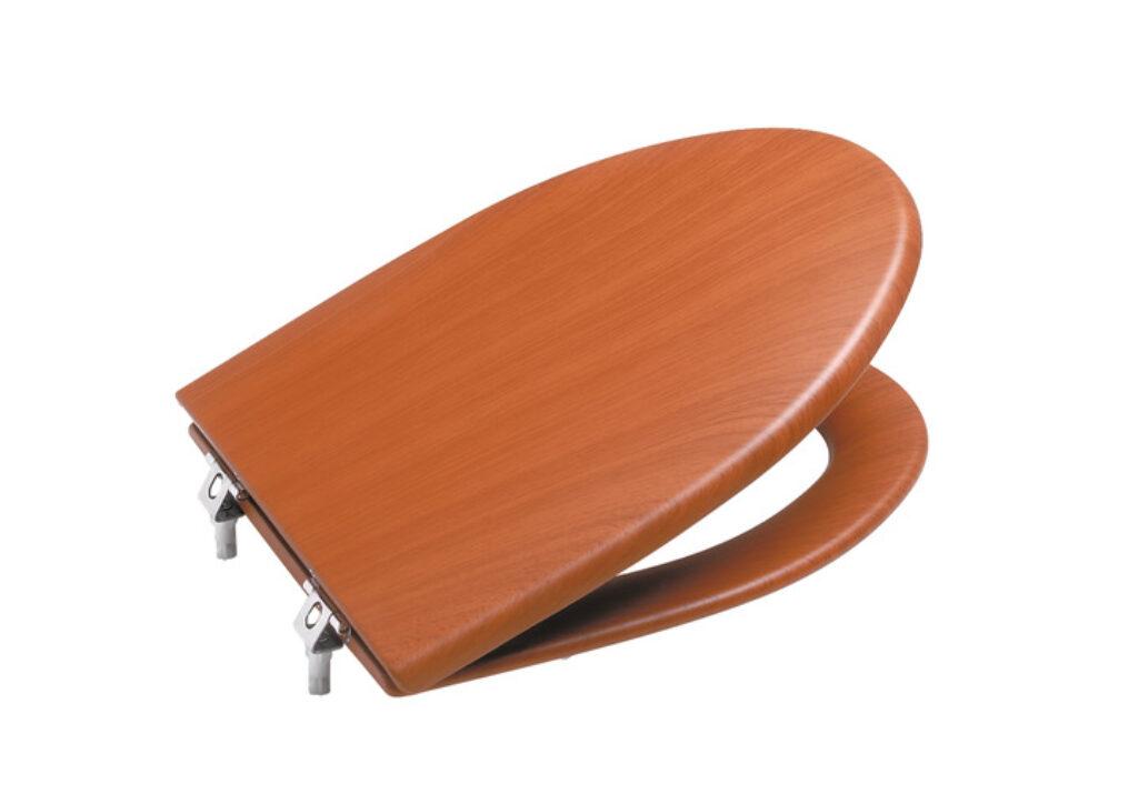 ROCA America WC sedátko imitace dřeva (třešeň) Softclose 7801492M14 l.j. - Sanitární keramika / Příslušenství k sanitární keramice