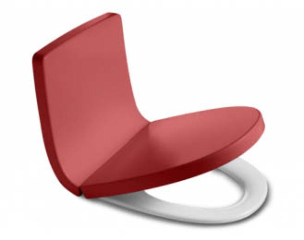 ROCA Khroma opěradlo barvy Passion Red 780165AF3T I.j. - Sanitární keramika / Příslušenství k sanitární keramice