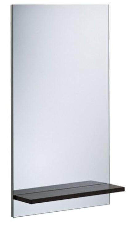 ROCA Hall zrcadlo s policí 54x92,5cm wenge 7856442601 I.j. - Koupelnové doplňky / Zrcadla do koupelny