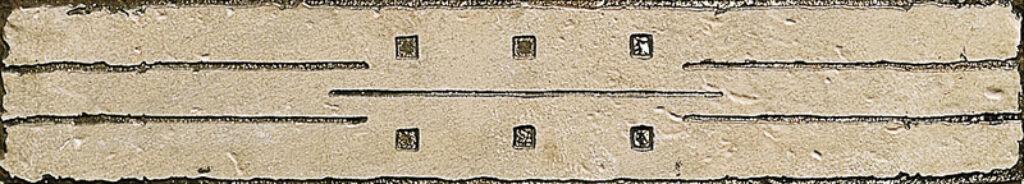 pietra l.bianco met.list. 8/45  7945775 I.j. - Obklady a dlažby / Obklady do kuchyně / Katalog koupelen