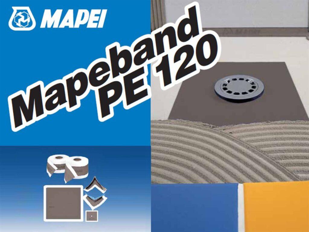 M-Mapeband PE120 manžeta 425x425mm - Stavební chemie / Příprava podkladu / Katalog koupelen