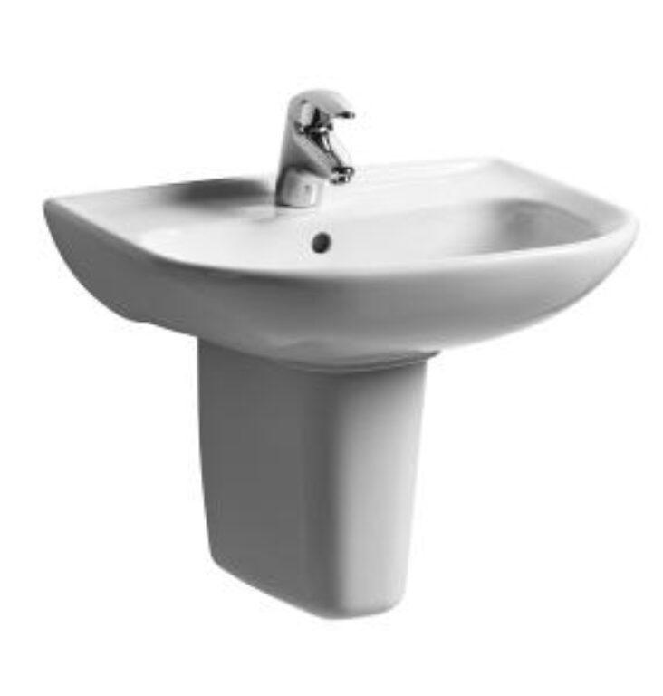 OLYMP umyv.65x48cm bílé 1061.4(ch104) I.j. - Doprodej koupelnového vybavení / Sanitární keramika v doprodeji / Umyvadla do koupelny v akci