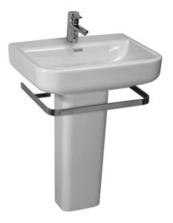 FORM umyv.65x48cm bílé 1067.4(ch104) I.j. - Doprodej koupelnového vybavení / Sanitární keramika v doprodeji / Umyvadla do koupelny v akci