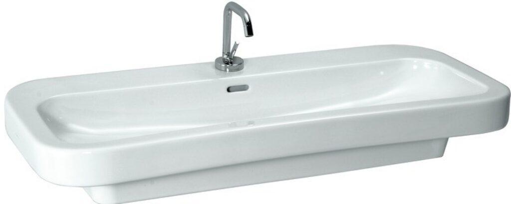 PALOMBA umyv.100x50cm bílé 1080.6(ch104) I.j. - Doprodej koupelnového vybavení / Sanitární keramika v doprodeji / Umyvadla do koupelny v akci