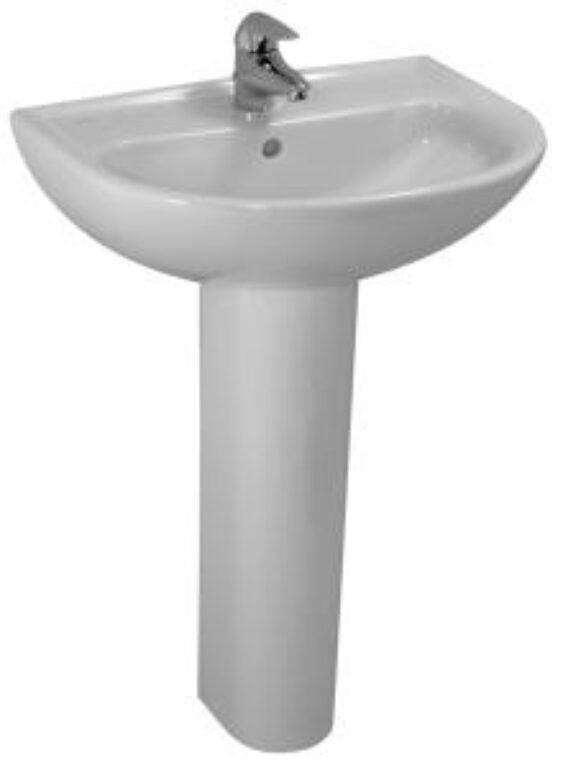 PRO-B umyv.60x48cm bílé 1095.2(ch104) I.j. - Doprodej koupelnového vybavení / Sanitární keramika v doprodeji / Umyvadla do koupelny v akci