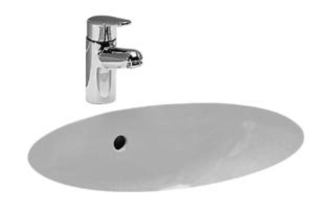 BIROVA umyv.vestavěné 49x35,5cm bílé 1119.1(ch000) I.j. - Sanitární keramika  / Umyvadla do koupelny / Katalog koupelen