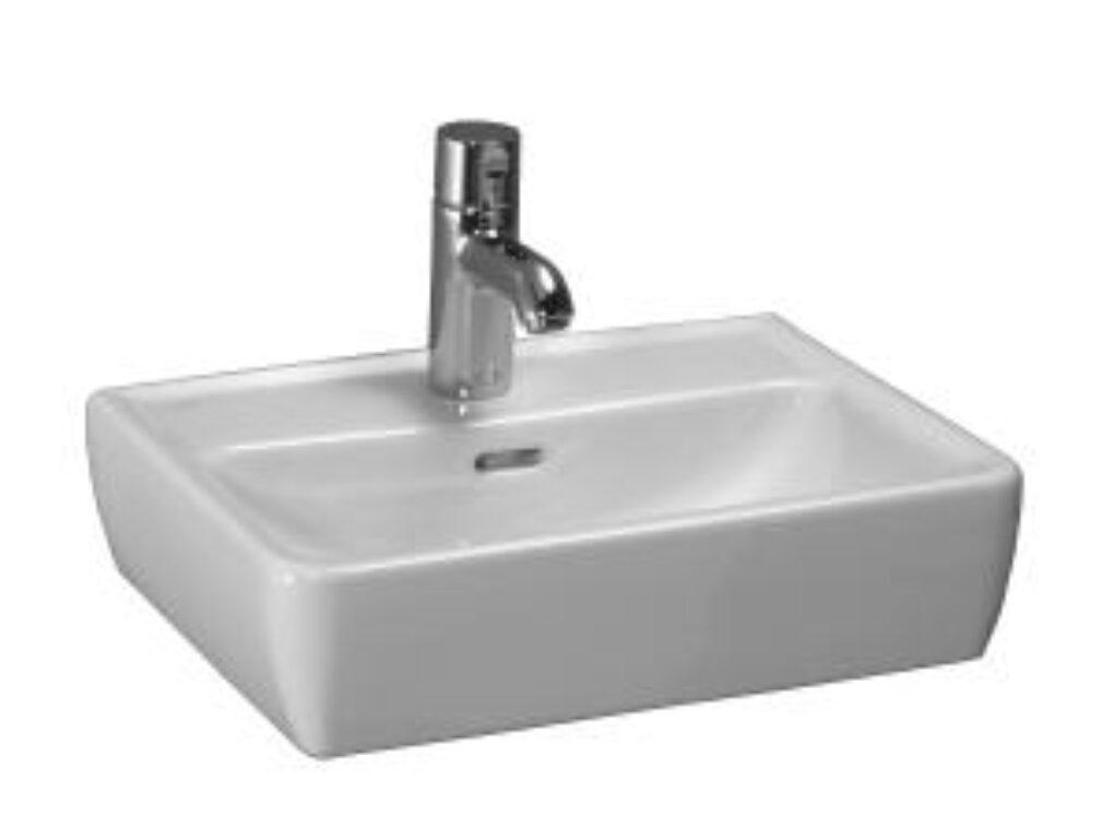 PRO-A umyvadlová mísa 45x34cm bílá 1195.2(ch104) I.j. - Doprodej koupelnového vybavení / Sanitární keramika v doprodeji / Umyvadla do koupelny v akci