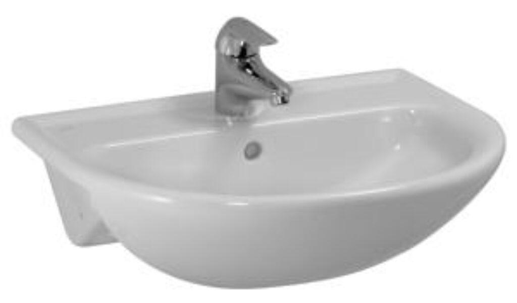 PRO-B umyv.polozápustné 56x44cm bílé 1295.1(ch104) I.j. - Sanitární keramika / Umyvadla do koupelny