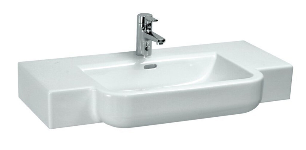 FORM umyv.do nábytku 90x48cm bílé 1367.3(ch104) I.j. - Doprodej koupelnového vybavení / Sanitární keramika v doprodeji / Umyvadla do koupelny v akci